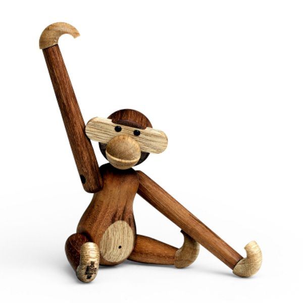 Holzfigur »Affe« von Kay Bojesen mini