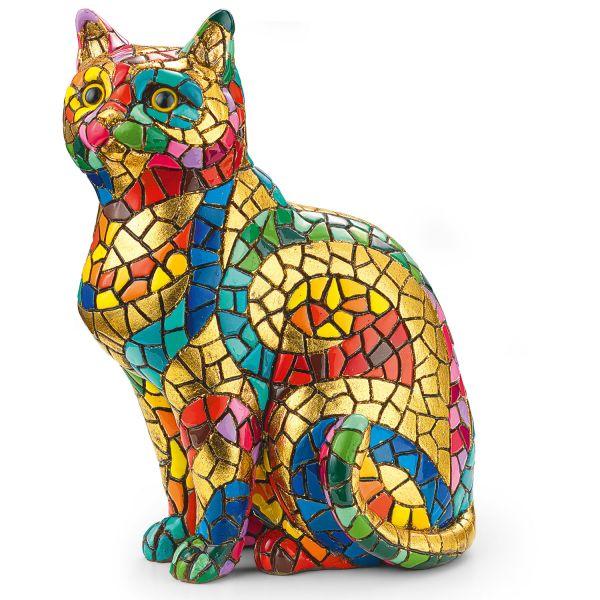 Mosaikfigur »Katze«