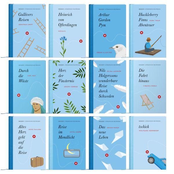 ZEIT-Edition »Literarische Weltreisen«