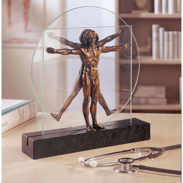 da Vinci, Leonardo Skulptur »Schema delle Proporzioni«