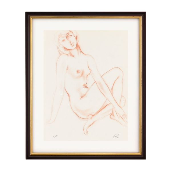 Schinzel, Erwin A.: »Geliebtes Mädchen«, 1980