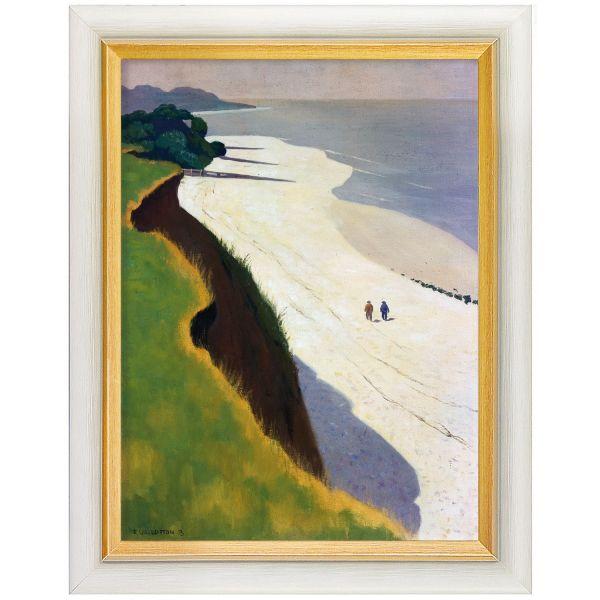 Vallotton, Félix: »La Falaise de la Grève Blanche« (Der weiße Strand), 1913