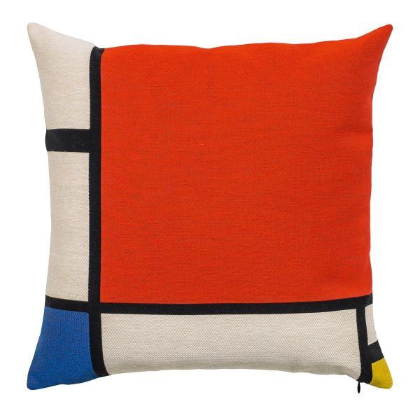 Kissenhülle »Composition II« nach Piet Mondrian