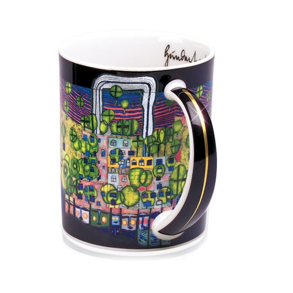 Magic Mug »La Troisième Peau«, nach Friedenreich Hundertwasser