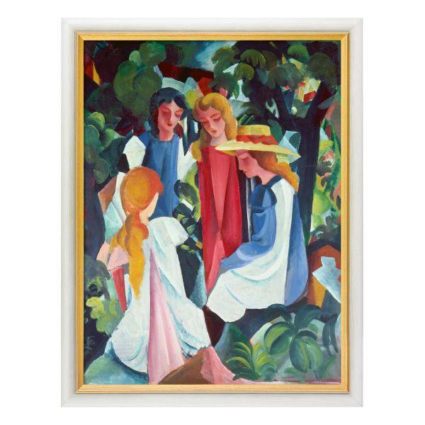Macke, August: »Vier Mädchen«, 1912/13