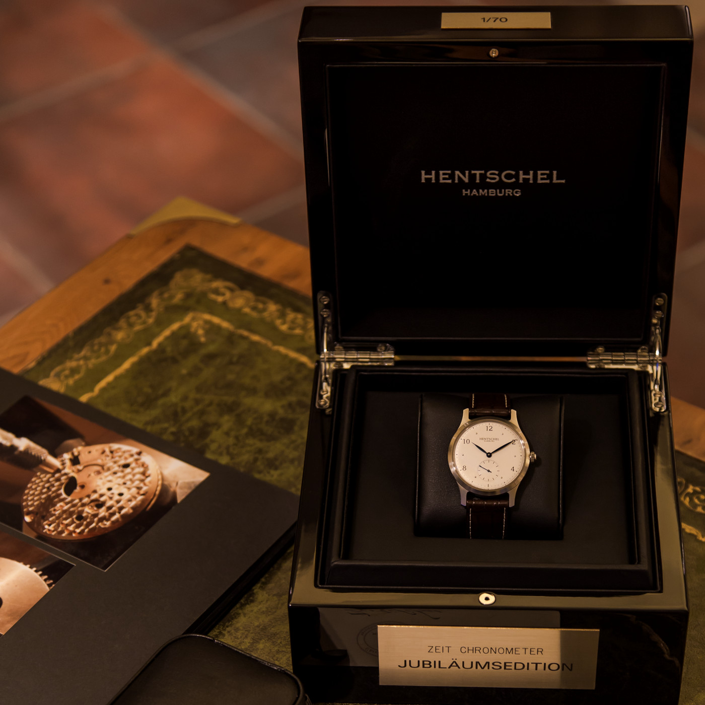 Beste Uhrmacherkunst nach historischem Vorbild