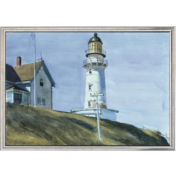 Hopper, Edward: »Leuchtturm bei Two Lights«, 1927