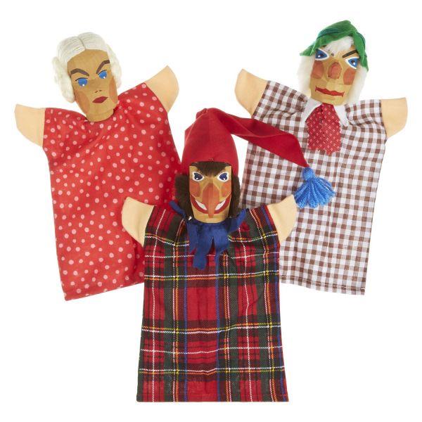 Kasperfiguren Set 1 (Kasper, Seppel & Gretel)