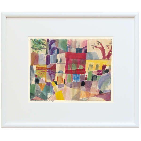Klee, Paul: »Rote und gelbe Häuser in Tunis«, 1914