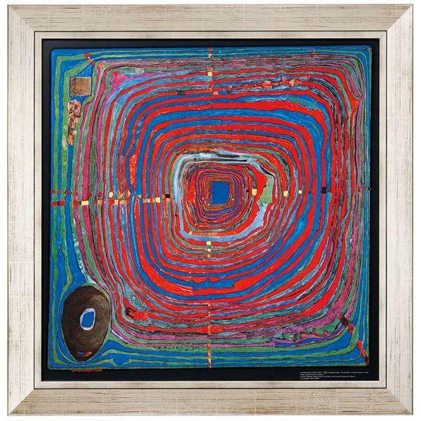 Hundertwasser, Friedensreich: »(224) Der große Weg«, 1955