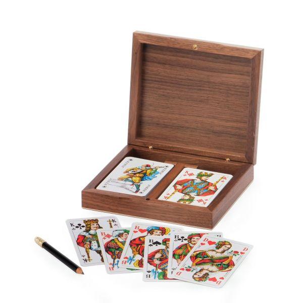 Kartenbox Rommee