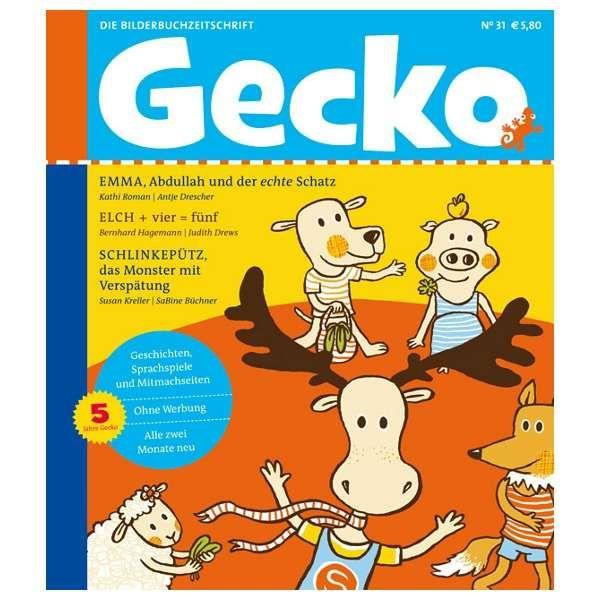 Gecko Kinderzeitschrift Band 31
