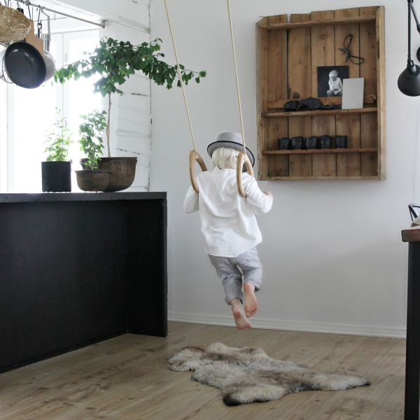 Kinder-Turnringe aus Holz