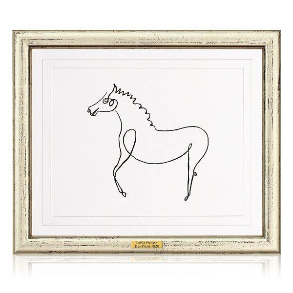 Picasso, Pablo: »Das Pferd«