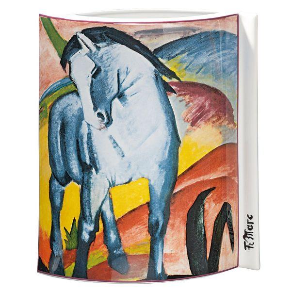 Porzellanvase »Blaues Pferd«, 1911, nach Franz Marc