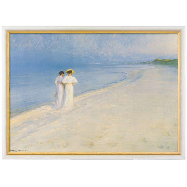 Krøyer, Peder Severin: »Sommerabend bei Skagen«, 1893
