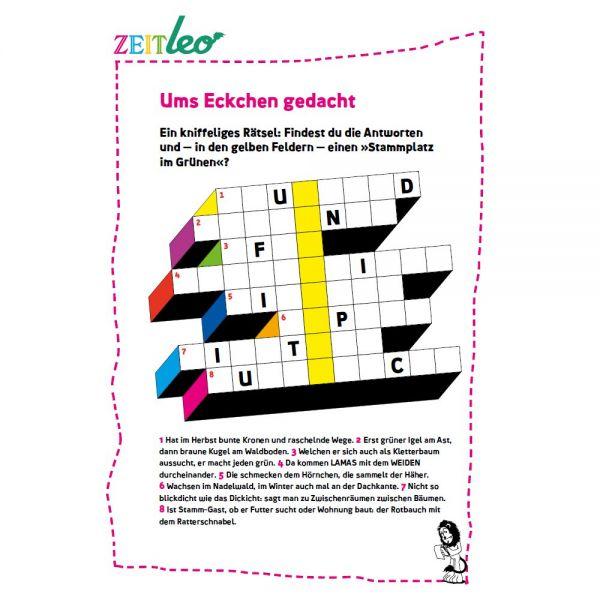 ZEIT LEO: Spiele und Rätsel