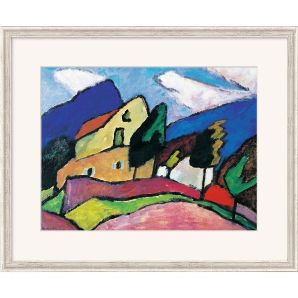 Münter, Gabriele: »Wind und Wolken«, 1910