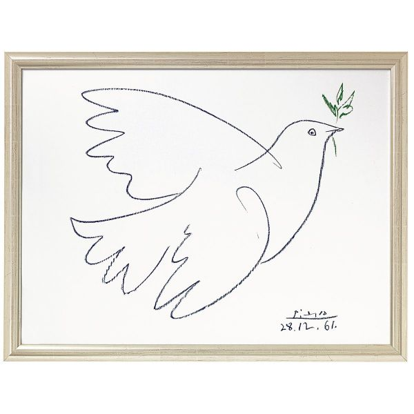 Picasso, Pablo: »Friedenstaube«, 1961
