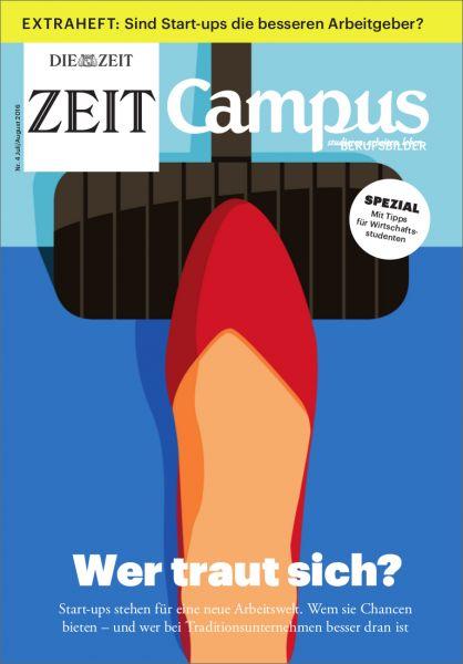 ZEIT CAMPUS 4/16 Wo sind meine Grenzen