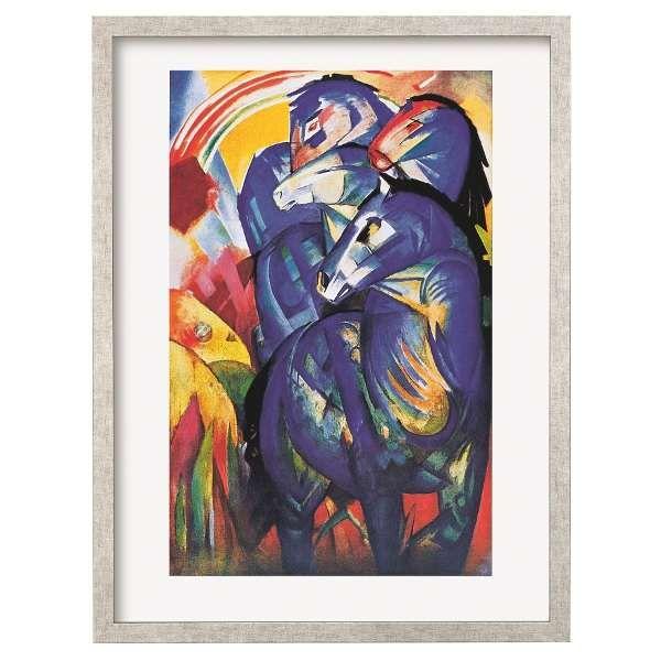 Marc, Franz: »Turm der blauen Pferde«,1913