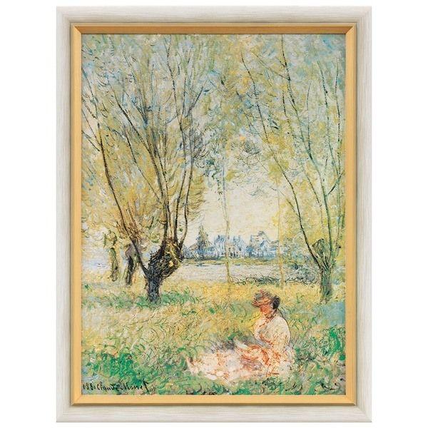 Monet, Claude: »Frau unter den Weiden«
