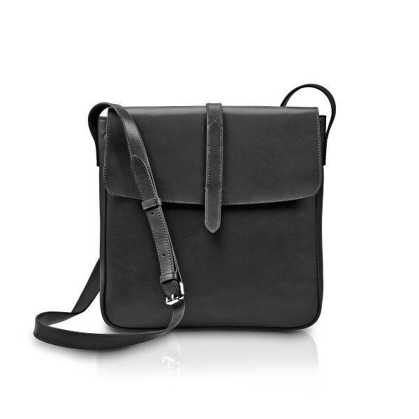 »Saddle Bag« Umhängetasche Schwarz