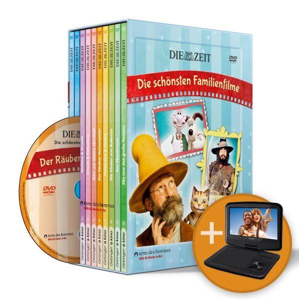 ZEIT-Edition »Die schönsten Familienfilme« + DVD-Player