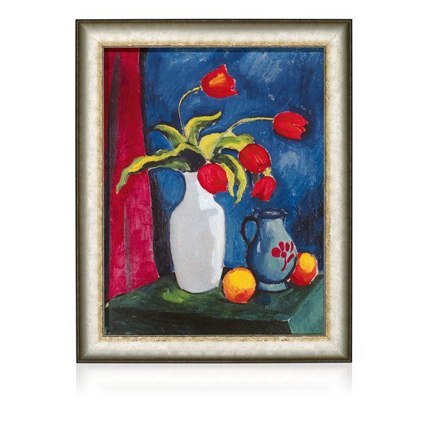 Macke, August: »Rote Tulpen« (1912)