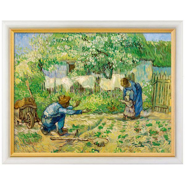 van Gogh, Vincent: »Die ersten Schritte«, 1890