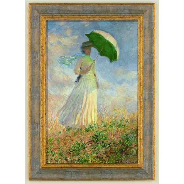 Monet, Claude »Frau mit Sonnenschirm«, 1886