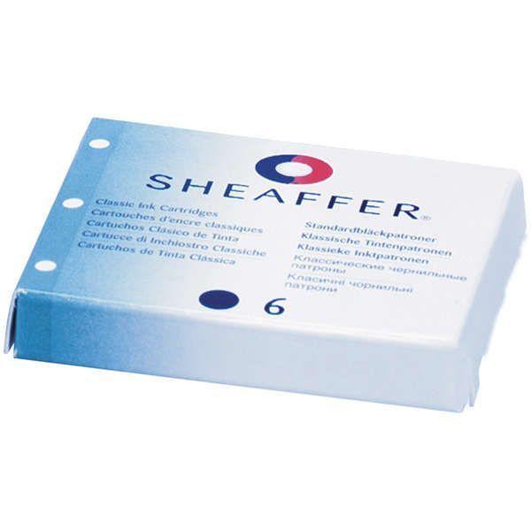 6 x Sheaffer Tinten-Patronen