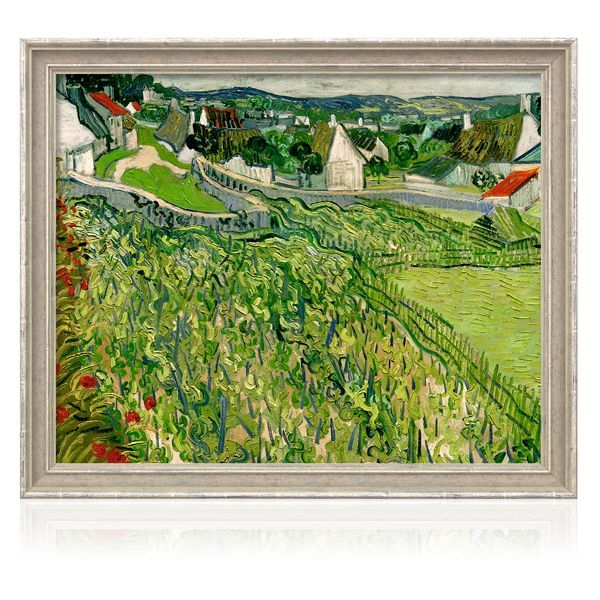 van Gogh, Vincent: »Weinberge mit Blick auf Auvers« (1890)