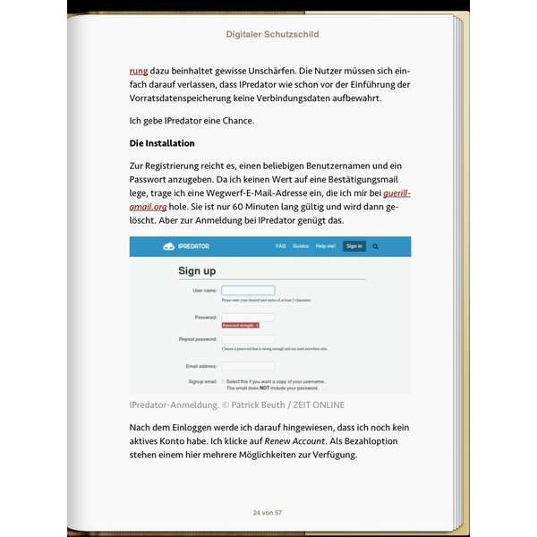 »Digitaler Schutzschild«