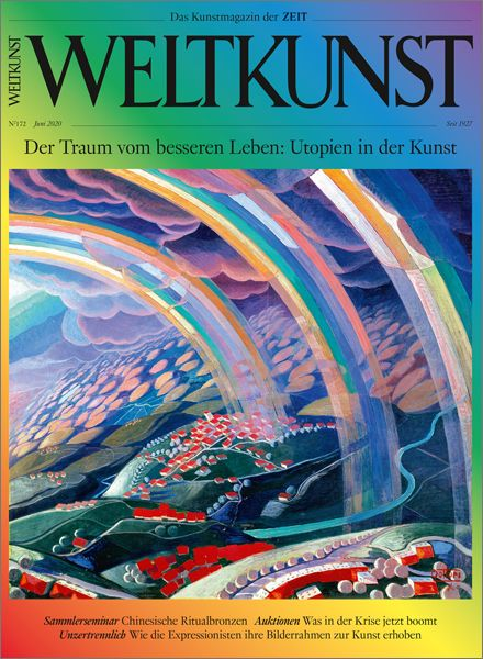 WELTKUNST 172/20 Der Traum vom besseren Leben: Utopien in der Kunst