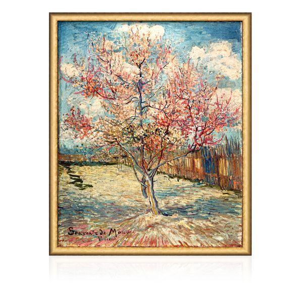 van Gogh, Vincent: »Blühender Pfirsichbaum«, 1888
