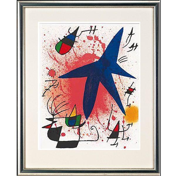 Miró, Joan: »O. T. (Blauer Stern)«