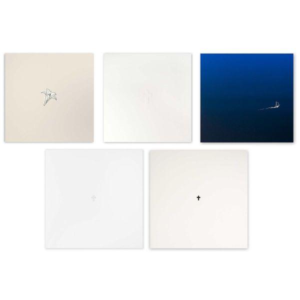Kondolenzkarten-Set »Zum Abschied«, 10-teilig