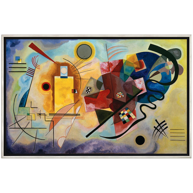 Wassily Kandinsky: Gemälde »Gelb - Rot - Blau«