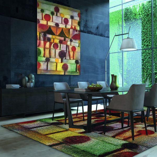 Paul Klee: Teppich »Kamel in rhythmischer Baumlandschaft«