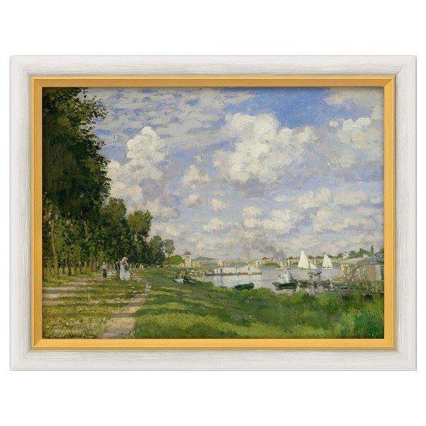 Monet, Claude: »Le Bassin d'Argenteuil«, 1872