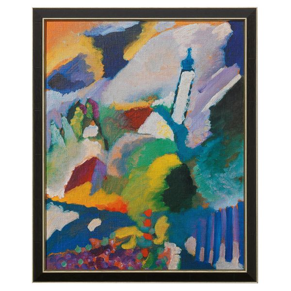 Kandinsky, Wassily: »Kirche in Murnau«, 1910