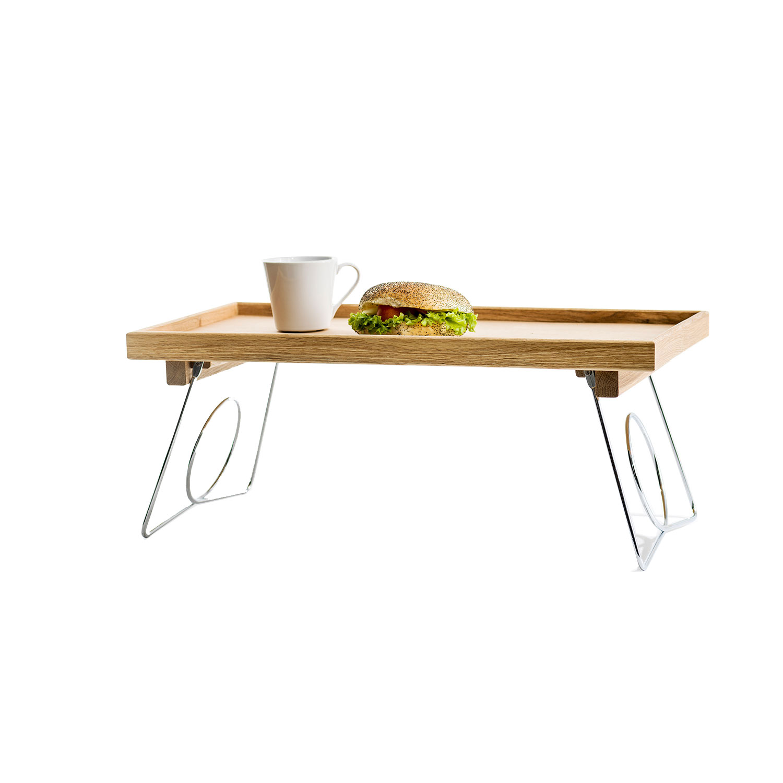 Tablett Fürs Bett : bett tablett oak mit einklappbaren beinen eiche online bestellen zeit shop ~ Watch28wear.com Haus und Dekorationen