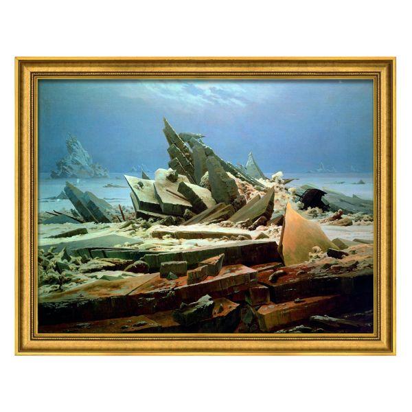 Friedrich, Caspar David: »Das Eismeer«, 1824