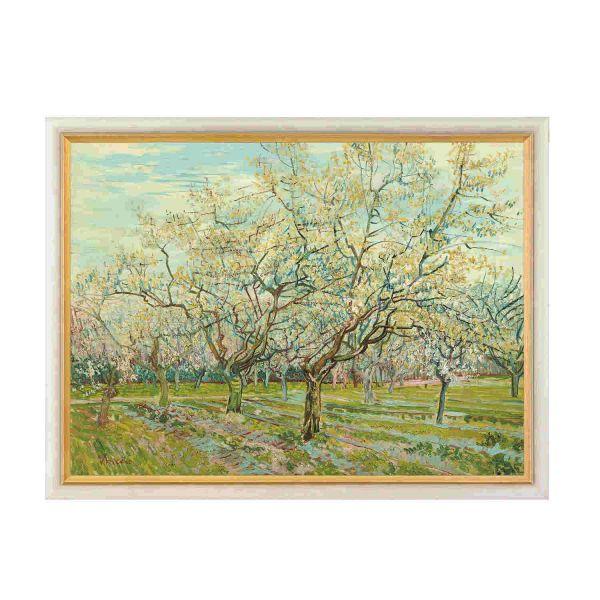 van Gogh, Vincent: »Der weiße Obstgarten«, 1888
