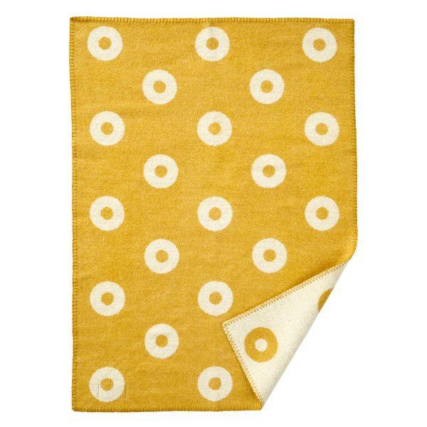 Decke »Rings Baby« Gelb