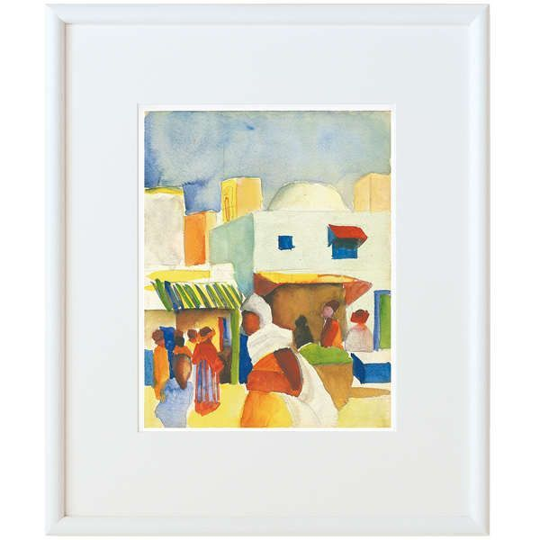 Macke, August: »Markt in Tunis«, 1914