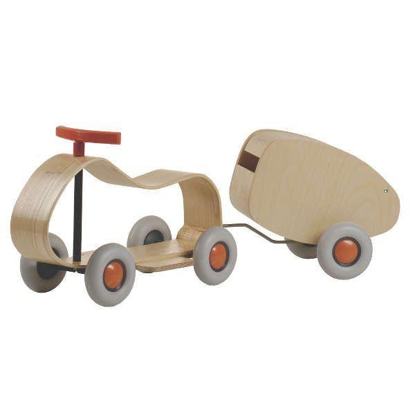 Kinderauto »Max« mit Anhänger »Lorette«