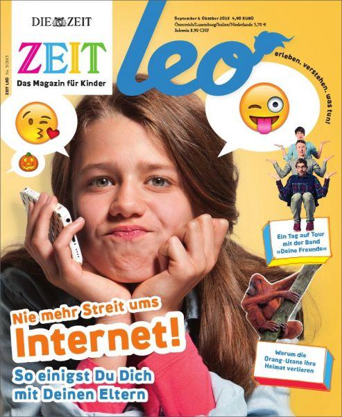 ZEIT LEO 5/15 Nie mehr Streit ums Internet