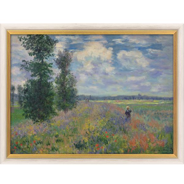 Monet, Claude: »Les Coquelicots (environs de Argenteuil)«, 1873